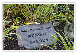 Brady William Russell Memory Garden